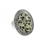 Dalmatian Stone Ring