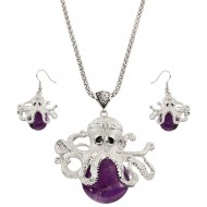 Octopus Necklace Set