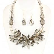 Glass Bead Necklace Set