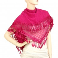 """Lace Scarf 70"""" x 20"""""""