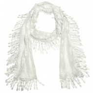 """Lace Scarf 70"""" x 12"""""""