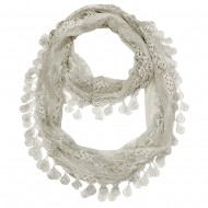 """Lace Scarf 62"""" x 12"""""""