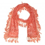 """Lace Scarf 70"""" x 11"""""""